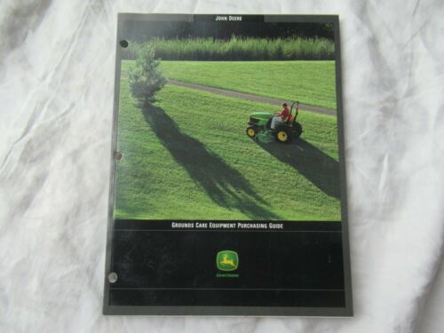 John Deere buyers guide brochure 425 lawn tractor gator mowers backhoe loader