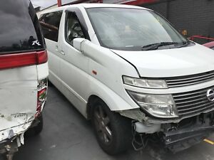 Nissan Elgrand e51 Highway star wrecking e51 Elgrand Kingswood Penrith Area Preview