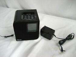 iHome iH12B Radio Charging iPhone Docking Station Speaker Alarm Clock w/warranty