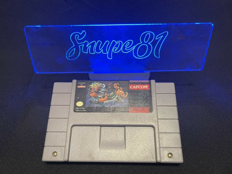 Final Fight 2 Super Nintendo SNES Authentic TESTED & WORKING