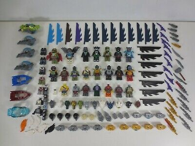 Lego CHIMA Minifigures Weapons Accessories Parts & Pieces Lot