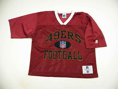 026e45ae4 NFL Football Jersey San Francisco 49ers Vintage Shirt Starter Made in USA