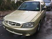 2001 HYUNDAI ACCENT HATCH AUTOMATIC VERY LOW KMS 1 YEAR WARRANTY Oak Flats Shellharbour Area Preview
