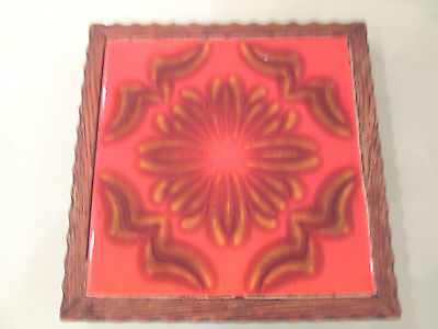 70's DECORATIVE TILE STAND