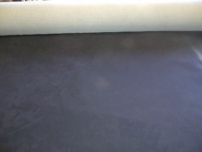 Upholstery fabric microfiber suede color black (20 yards roll) 56 wide for sofas