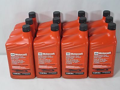1 CASE (12 QTS) MOTORCRAFT XT7QCFT CONTINUOUSLY VARIABLE TYPE TRANSMISSION FLUID