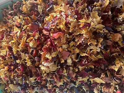 1 Pint Real flower Confetti, 100% petals, Organic, Candle Soap Bath Bomb Making