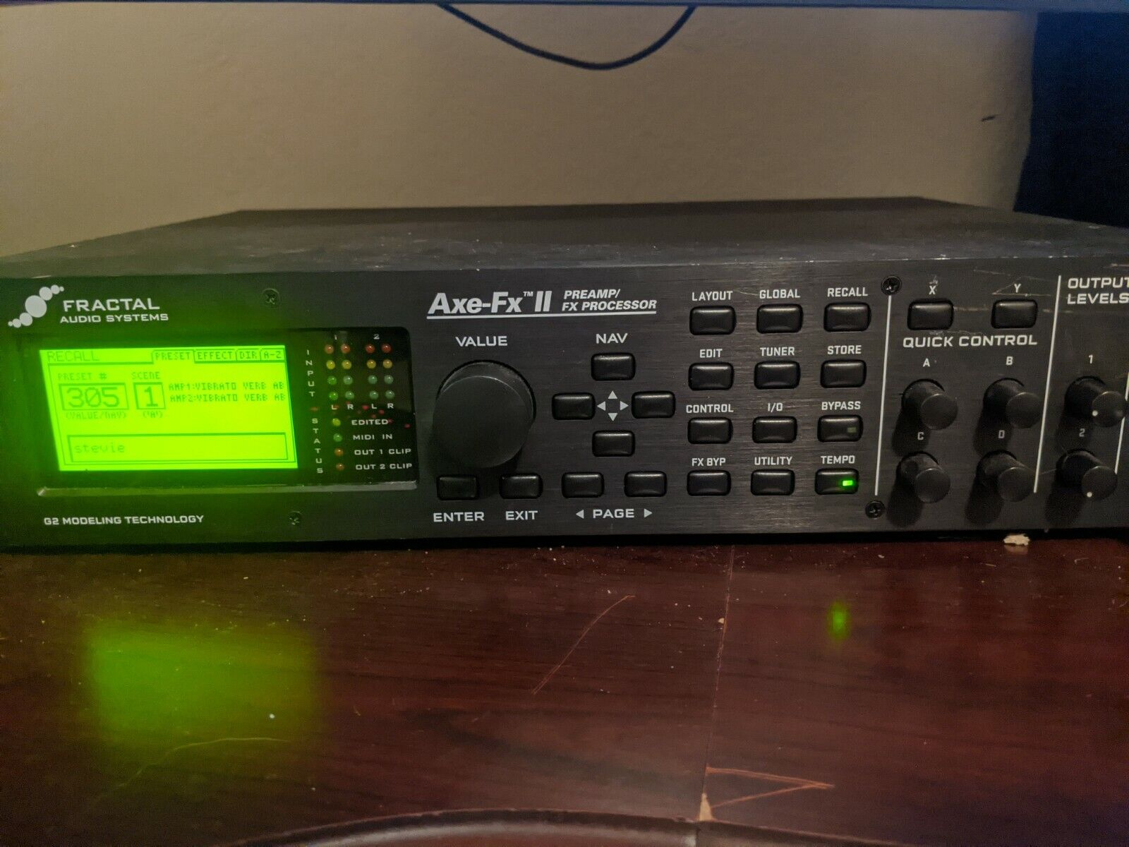 Fractal Audio AXE-FX II Mark I  - $600.00