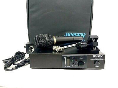 JENSEN PRO AUDIO JW201H-TRUDY DIVERSITY WIRELESS MIC SYSTEM  PKG #5952 (ONE) Jensen Wireless Mic