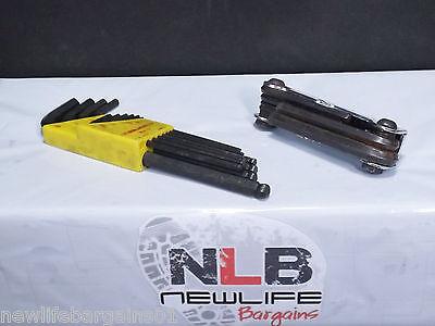 Bundle of 2 Hex Key Sets Bondhus & Craftsman Sets - Key Set Bundle