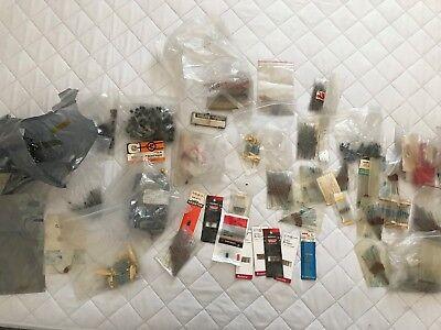 Lot Of Mixed Capacitors Resistors Fuses Mixed Values Sizes