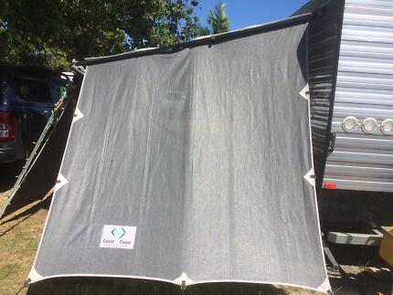 Caravan side sunscreens X 4