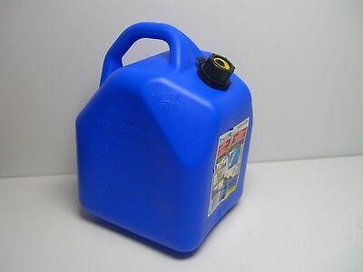 Ameri-can 5-gallon Blue Plastic Kerosene Can Child-resistant Spout