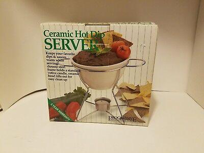 Ceramic Hot Dip Server Progressive International Corp  Ghds 2 1993