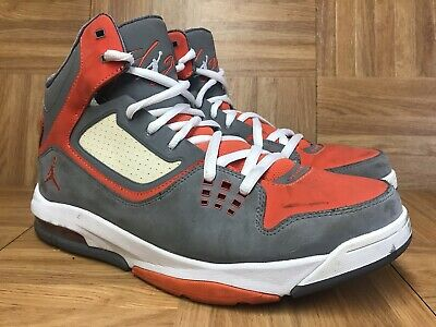 cheap for discount 1748b fa96a RARE🔥 Nike Air Jordan Flight 23 RST Cool Gray Orange White Sz 10.5 512234 -016