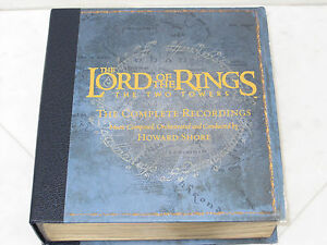 Lord-Of-The-Rings-The-Two-Towers-Complete-Recordings-3-CD-DVD-Audio-Box-Set