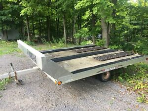 Triton snowmobile trailer
