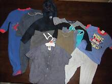 Size 1 bundle (number 2), baby boy toddler clothes, 12 items Greenwith Tea Tree Gully Area Preview