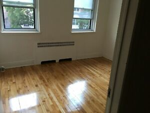 Room in spacious apartment downtown (sublet/sous location)