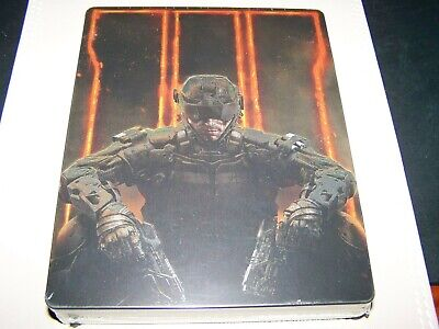 Call of Duty: Black Ops III 3 the Steelbook Edition Xbox One...