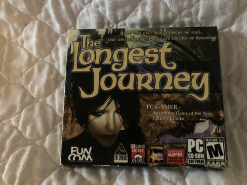 Computer Games - The Longest Journey - PC/Computer Game - NEW CD ROM