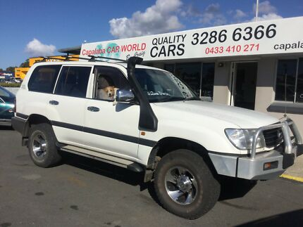 2003 Toyota GXL LandCruiser Diesel SUV Capalaba Brisbane South East Preview