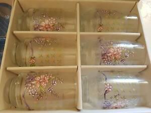 6 set glassware