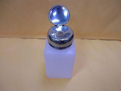 Pump Dispenser 6oz Bottle For Acetone,Polish Remover,Alcohol