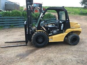 2011 MAST EXPLORER H25DSI 4WD FORKLIFT Mansfield Mansfield Area Preview