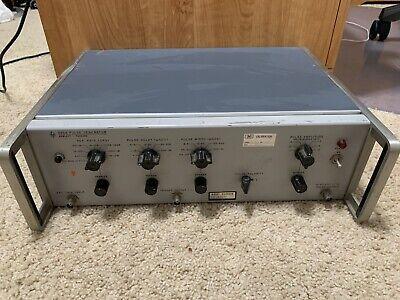 Hp Hewlett Packard 222a Pulse Generator Vintage
