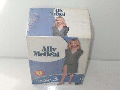ally mcbeal - 3 temporada - 6 dvds - nuevo