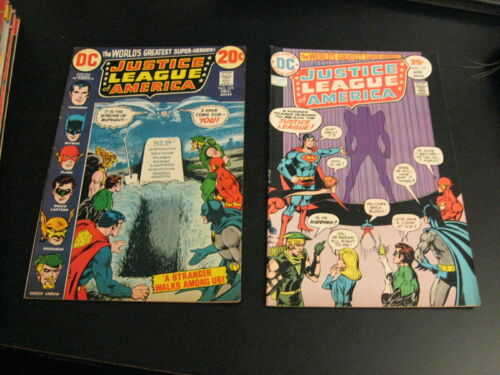 Lot of *6* 1970s JUSTICE LEAGUE: #103,117,118,120,121,144 (VF-)