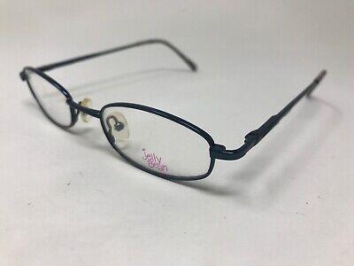 JELLY BEANS Womens Eyeglasses JB126 46-19-135 Teal Blue Polish TC37