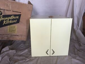 Youngstown Kitchens New Old Stock Yellow Dawn Upper Cabinet 1950 S