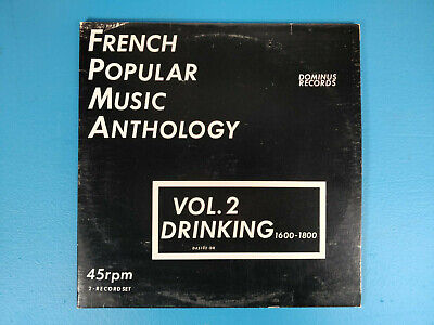 French Popular Music Anthology 2 LPs Vol. 2 Drinking, Dominus Records, - French Recorder Music