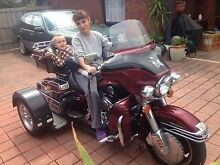 Harley Davidson Ultra Classic with Trike conversion KIT Endeavour Hills Casey Area Preview