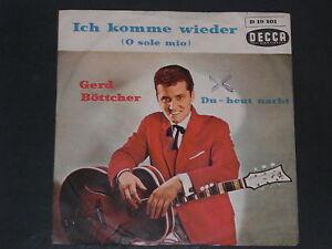 7-Single-Schlager-GERD BÖTTCHER-Ich komme wieder (O Sole mio) - Wien, Österreich - 7-Single-Schlager-GERD BÖTTCHER-Ich komme wieder (O Sole mio) - Wien, Österreich
