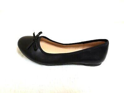 NEW! Girl's Sonoma Goods for Life Bow Ballet Flats - Black 127E m - Black Ballet Flats For Girls