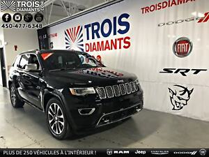 2017 JEEP GRAND CHEROKEE OVERLAND-TOIT PANO-CUIR-4X4-GPS-CAMÉRA