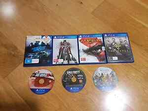 Playstation 4 Games Manly Vale Manly Area Preview