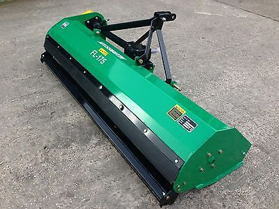 Tractor Mounted  Flail Mower Topper 1.75m . Off Set.  £1299 inc VAT and Delivery