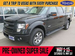 2013 Ford F-150 FX4 PRE-OWNED SUPER SALE ON NOW! 3.5L V6, TOW...