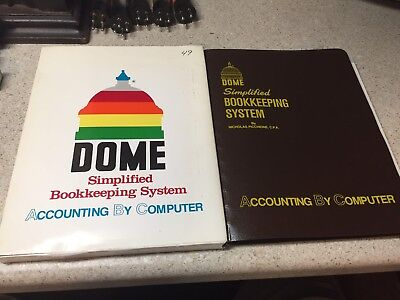 Dome Simplified Bookkeeping Accounting For Computer 1989 Ibm Commodore