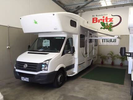 VW CRAFTER 6 BERTH AUTO DIESEL KEA NEW CAR WARANTY TILL 2016 Wangara Wanneroo Area Preview