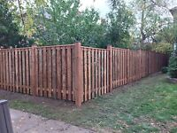 Is your fence leaning ? Call us today . New builds and repairs