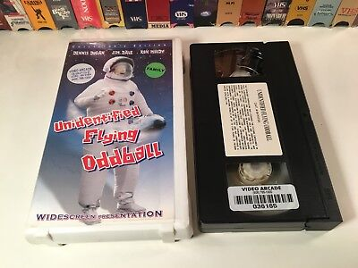 Unidentified Flying Oddball Family Comedy VHS 1979 Widescreen Anchor Bay 70's