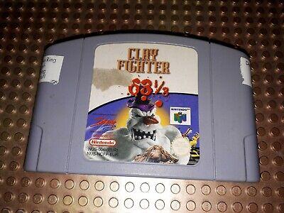 Nintendo 64 Spiel Modul Clayfighter 63 1/3 N64 7