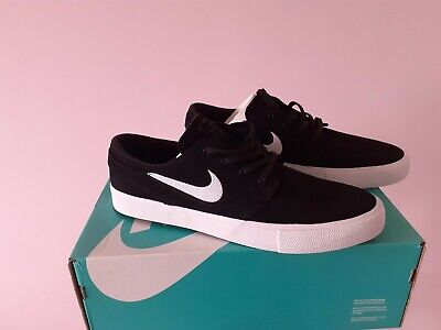 Men's NIKE SB Zoom Stefan Janoski OG Black White Gum UK 11 US 12 Boxed