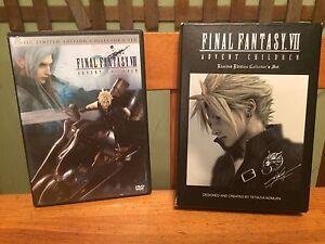 Final Fantasy VII Advent Children collector's set