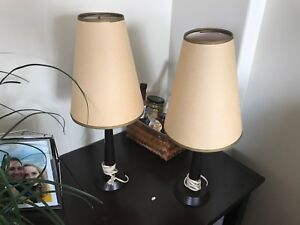 Pair of Handsome Antique Lamps